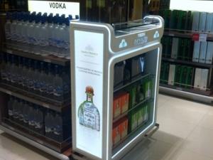 Gondola Tequila Patrón